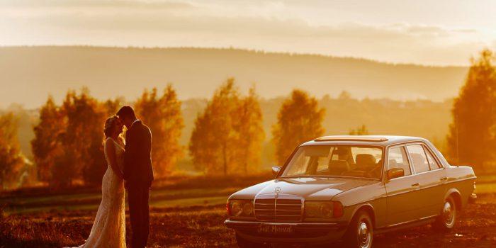 Jesienna sesja ślubna w Górach Świętokrzyskich