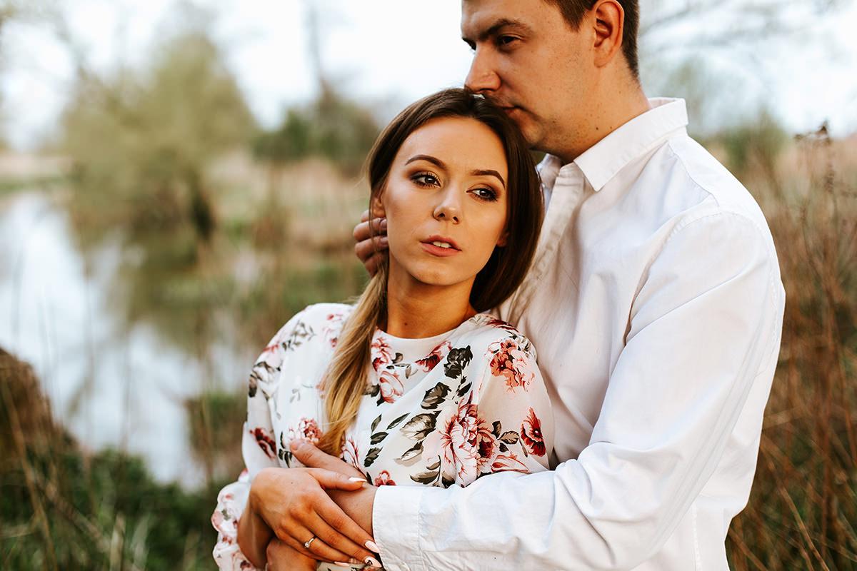 sesja ślubna w plenerze pod Warszawą