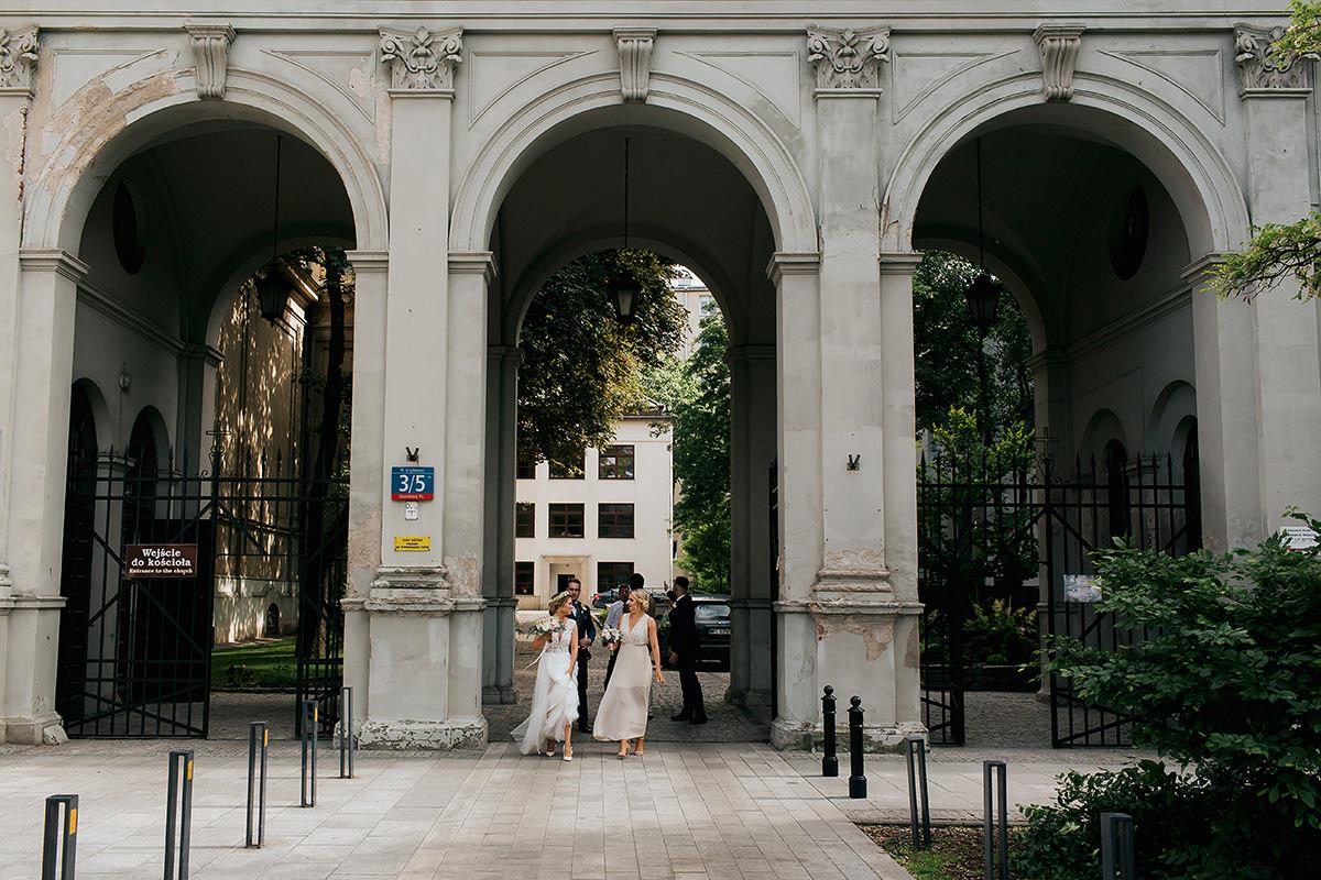 ślub na placu grzybowskim