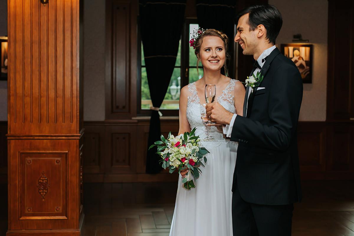 Ślub protestancki hotel Parasol